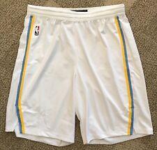 Nike Aeroswift Mens NBA USA Basketball Shorts White Blue Yellow Stripe XL 42 + 1