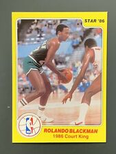 1986 Star Court Kings #5 Rolando Blackman *Pack Fresh* Dallas Mavericks