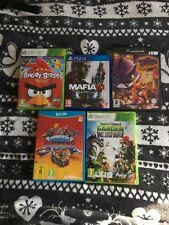 Joblot bundle of FAULTY scratched video games PS 4, X box 360, Wii u, gamecube