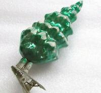 Rare Antiker Russen Christbaumschmuck Glas Weihnachtsschmuck Ornament Tannenbaum