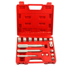 17pcs Aluminium Wheel Bearing Race Seal Bush Driver Install Removal Tool Kit