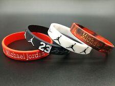 4*Michael Jordan silicone wrist band bracelet wristband Sports silicone bracelet