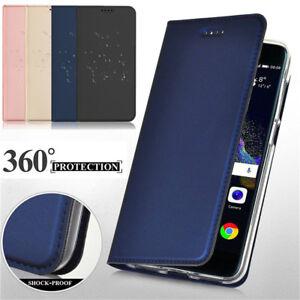 For LG G6 Q6 V20 V30 PU Leather Flip Slim Wallet Magnetic Shockproof Case Cover