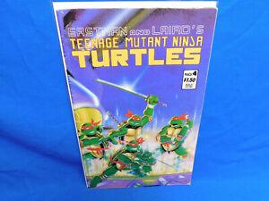 1987 MIRAGE STUDIOS VOL.1 TEENAGE MUTANT NINJA TURTLES #4 2nd PRINT VG TMNT