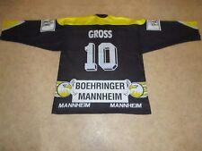 """Adler Mannheim Original Trikot 1995/96 """"ProMarkt"""" + Nr.10 Gross Gr.XL TOP"""