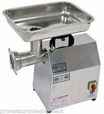*NEW* AMERICAN EAGLE AE-G22N 1.5HP #22 COMMERCIAL STAINLESS STEEL MEAT GRINDER!!