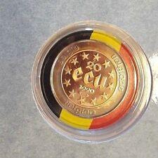 ===>> 20 ECU Or et Argent Belgique 1990 Belgïe Goud en Zilver KM# 177 FDC <<===