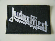 JUDAS PRIEST PATCH Embroidered Iron On Badge Heavy Metal NWOBHM Band Logo NEW
