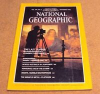 National Geographic Magazine November 1983 Last Supper Kamehameha Honduras Decoy