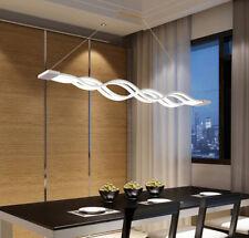 Led Strips Intersect Acrylic Chandelier Led Belt Wavy Drop Light Pendant Lamp