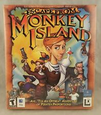 Escape From Monkey Island - Apple 2000 Mac Computer Game - NEW SEALED BIG BOX