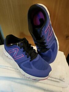 NEW BALANCE Women's Sneaker  (PURPLE/ PINK)  US SIZE 6.5