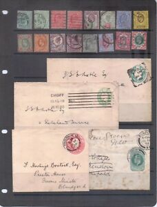 Great Britain Edward VII Used Collection