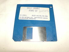 Daily Double Atari St  3.5 floppy disk