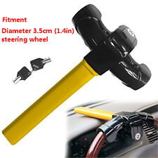 Car Steering Wheel Lock Key Cross-key Pick-proof Anti Theft Device Security Lock