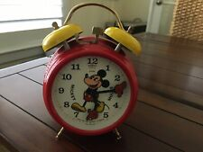 JERGER  MICKEY MOUSE ALARM CLOCK VINTAGE BRAND NEW!!!!