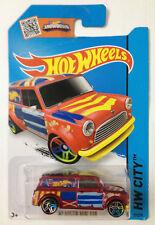 Hot Wheels # 2015 HW '67 Austin Mini Van Red Card Not Perfect MOSC