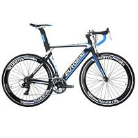 EUROBIKE XC7000 54CM Aluminum Road Bike 14 Speed 700C Racing Bicycle mens bikes