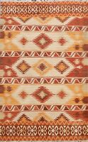 Hand-knotted Geometric Modern Moroccan Oriental Area Rug Living Room Carpet 5x7