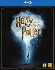Harry Potter: The Complete 8-Film Collection Blu Ray (Region Free)