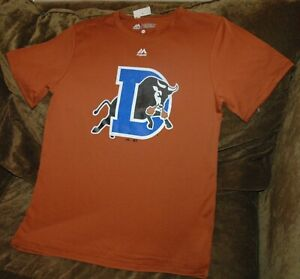 Durham Bulls Majestic Cool Base shirt YOUTH XL New with Tags Minor Leagues