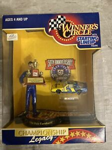 DALE EARNHARDT FIGURE CHEVY WRANGLER 1986 WINNERS CIRCLE STARTING LINEUP 1998*