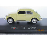 high speed 1/43 scale model car VW KAFER BEETLE (in near mint condtion)