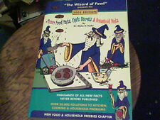 the wizard of food presents the 2005 edition 20,001 food facts, chefs secrets