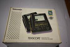 Tektronix Tekscope Digital Real Time Oscilloscope THS720A 100MHz Scope DMM 500MS