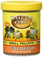 Omega One Small Goldfish Pellets 4.2 oz