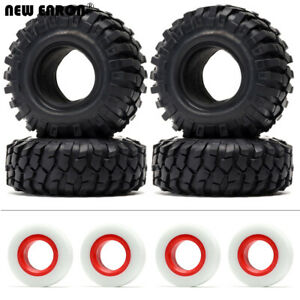 """1.9"""" 96/108MM Rubber Tire Tyre For RC 1/10 Crawler Traxxas D90 SCX10 90046 TRX4"""