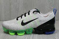 56 New Nike Air VaporMax Flyknit 3 GS Grey Stucco Shoes BQ5238-003 6Y/Womens 7.5