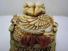 Harmony Kingdom Beak to Beak Love Birds Signed #Tjlb Peter Calvesbert
