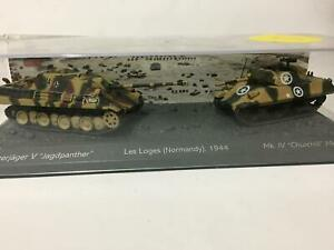 Set of two tanks 1:72 World of tank Chariot Diecast #06