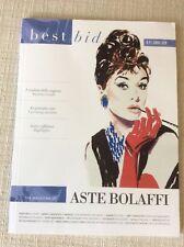 BOLAFFI - BEST BID THE MAGAZINE OF ASTE BOLAFFI  RIVISTA CATALOGO - TIFFANY