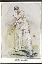 Sports Postcard - Cricket - Douglas Robert Jardine, Surrey & England  C805