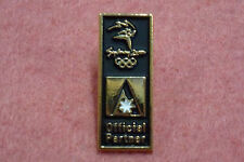 "Ansett Airlines ""Travel Agent Black w/White Dinner"" PROTOTYPE Pin Sydney Games"