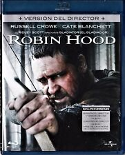 Ridley Scott: ROBIN HOOD con Russell Crowe. Tarifa plana envío España, 5 €