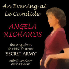 "CD ""an Evening at Le Candide"" Songs From Secret Army by Angela Richards AU Cafe"