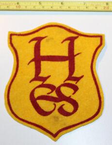 HES Logo Vintage Patch Badge