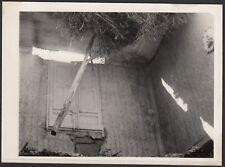 YZ1229 Italia 1950 - Veduta dopo il terremoto in un paese da identificare - Foto