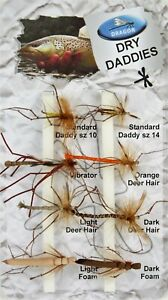 Dragon, Fly Selection, Dry - Daddy Long Legs, Natural Still Water, Fishing Flies
