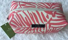 Kate Spade Davie Grant Street Grany Cosmetic Pouch Bag White Light Pink $65