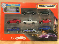 Matchbox 1:64 Die Cast 2020 9 Car Collector Gift Pack - Style B