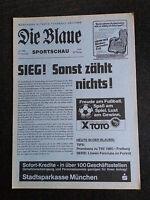 AR zur II. BL 83/84 TSV 1860 München - Freiburger FC, 02.06.1984