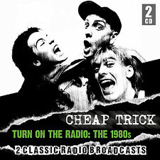 CHEAP TRICK New Sealed 2018 UNRELEASED 1980s ERA LIVE CONCERTS 2 CD SET