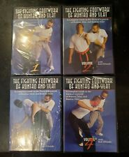 The Fighting Footwork of Kuntao and Silat: Volumes 1 - 4