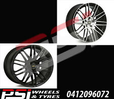 "20"" INCH SIMMONS OMC WHEELS RIMS 20X8.5 x4 5X114.3 5X120 HOLDEN FORD HSV FPV"
