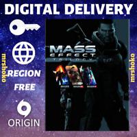 Mass Effect Trilogy PC Origin Download Key - FAST DELIVERY US/EU/UK/Region Free