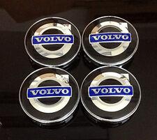 Wheel Center Caps 60mm Badge Set 4pcs Volvo